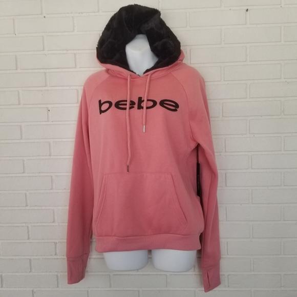 Bebe new hoodie NWT
